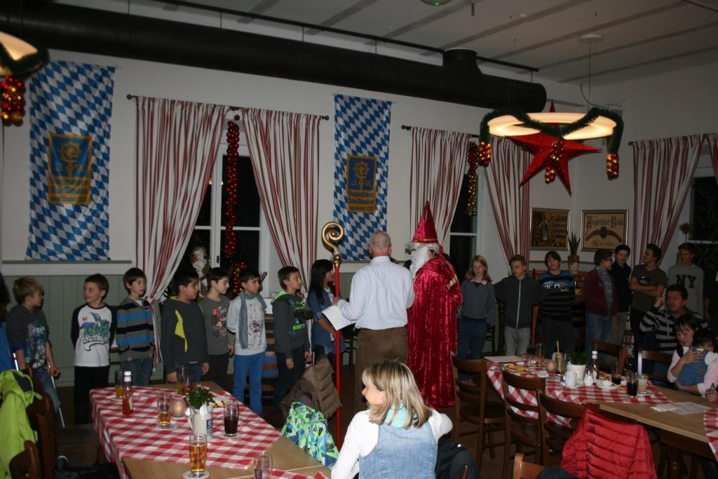 Weihnachtsfeier der KJa - 2014